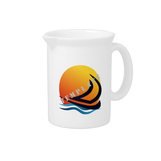 Template Drinkware Pitcher