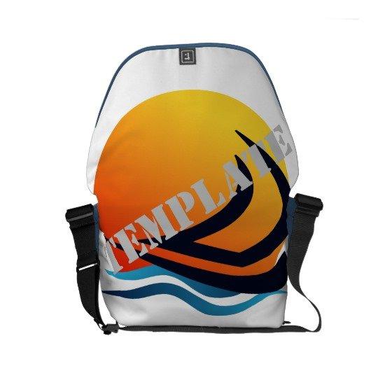 Template Rickshaw Messenger Bag